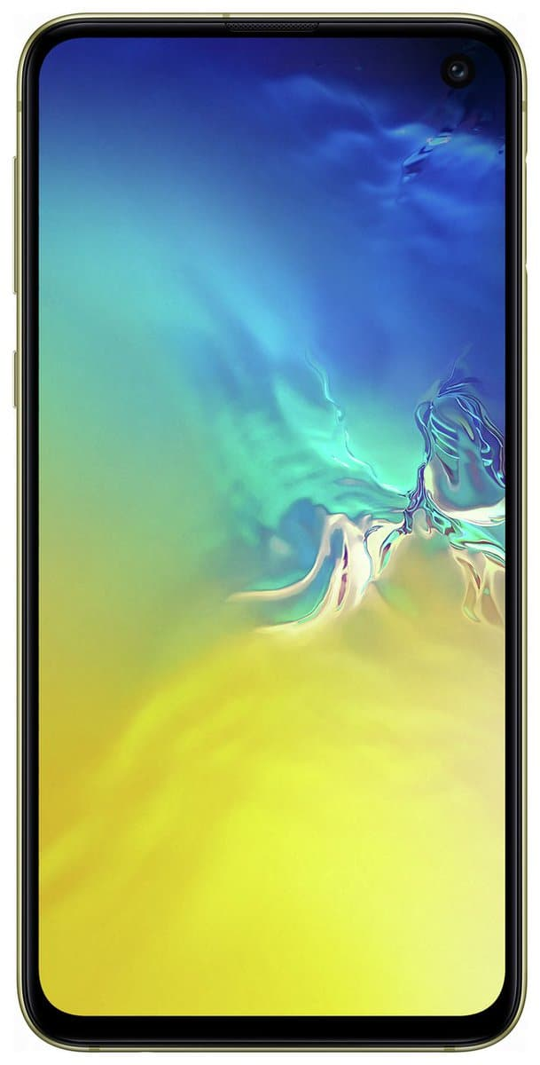 Canary Yellow Galaxy S10e render 21