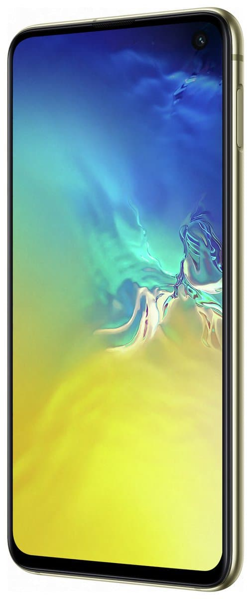 Canary Yellow Galaxy S10e render 25