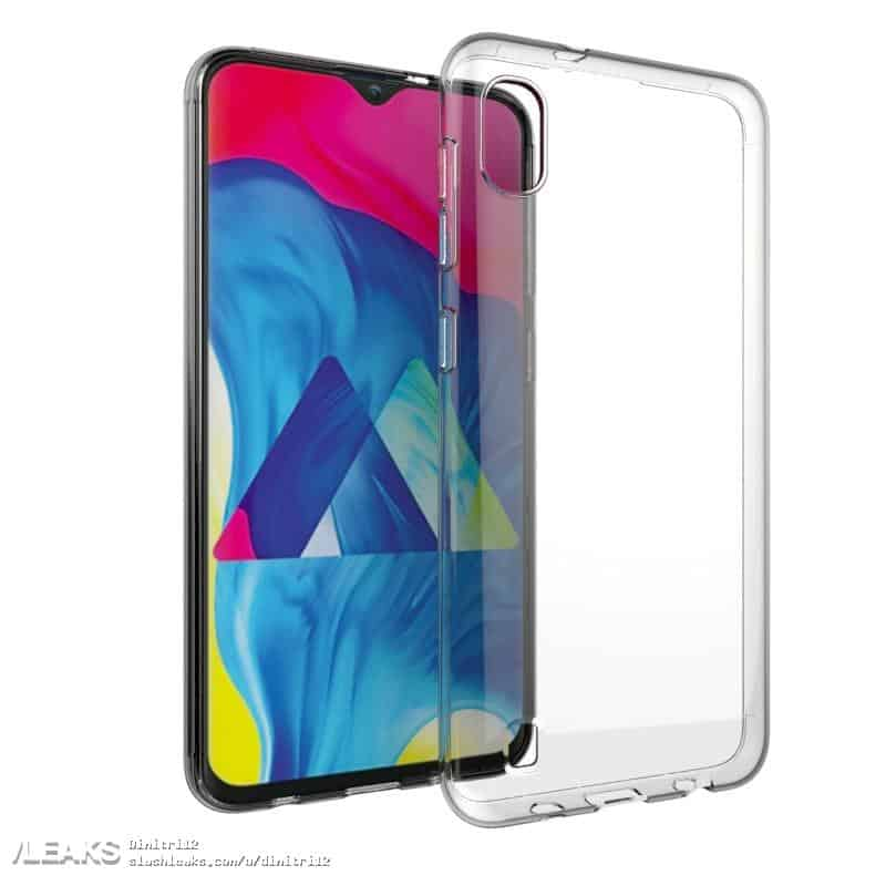 Galaxy A10 2019 Case Render Leak 2