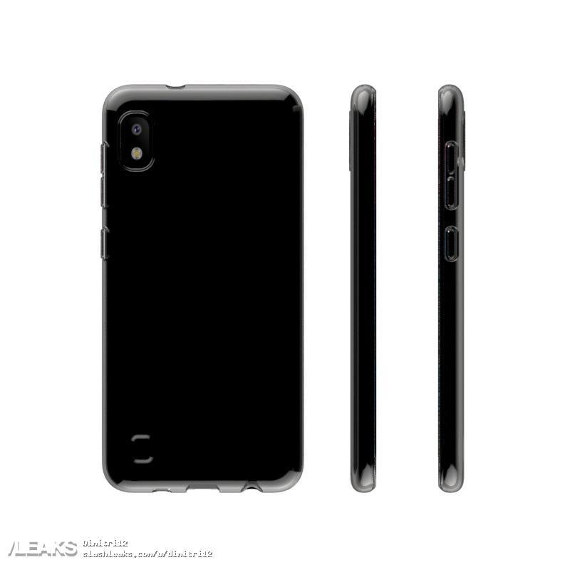 Galaxy A10 2019 Case Render Leak 3