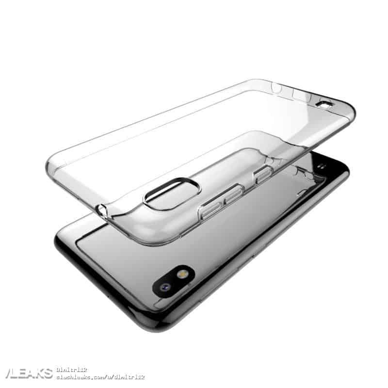 Galaxy A10 2019 Case Render Leak 4
