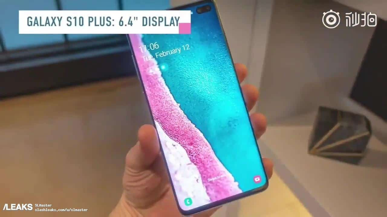 Galaxy S10 leaked Video Review 4