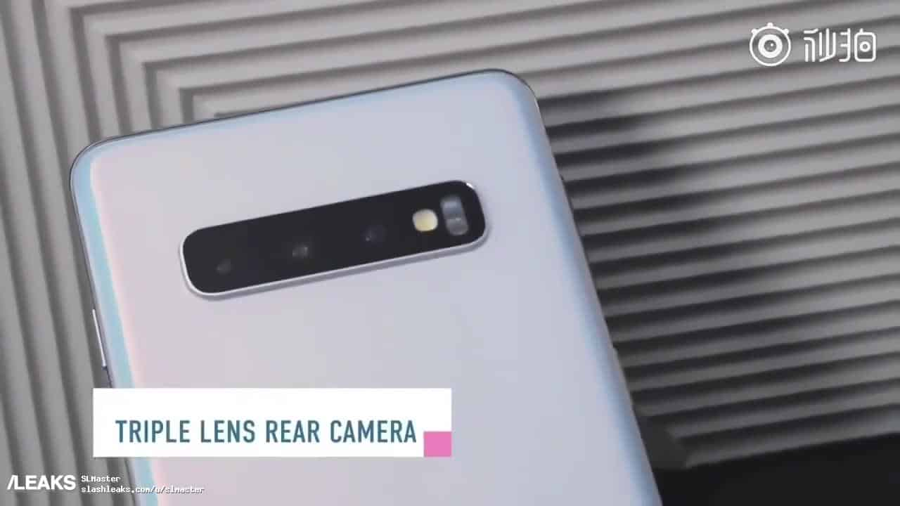 Galaxy S10 leaked Video Review 7