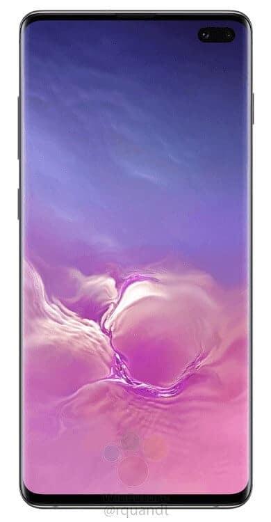 Galaxy S10 render leak WinFuture 11