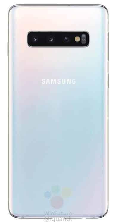 Galaxy S10 render leak WinFuture 5