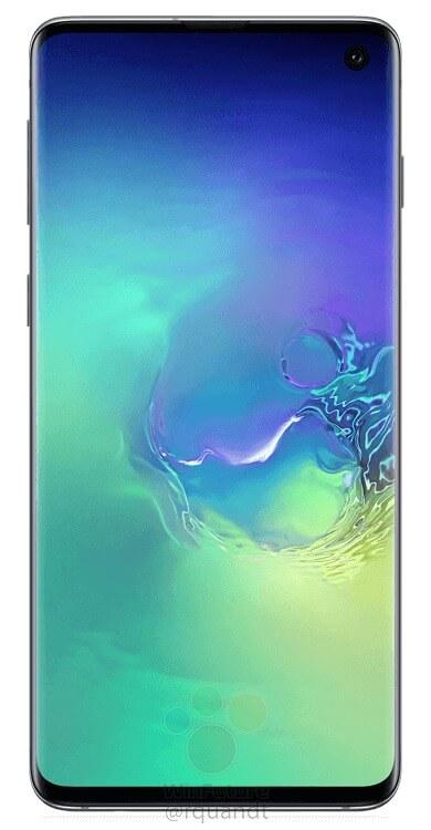 Galaxy S10 render leak WinFuture 7