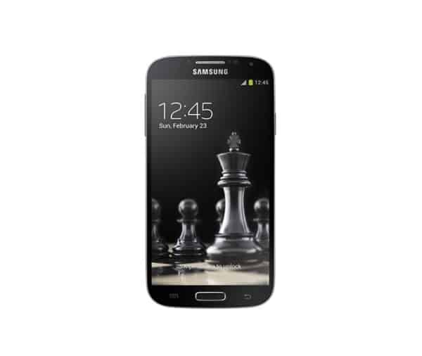 Galaxy S4 official render with wallpaper 1