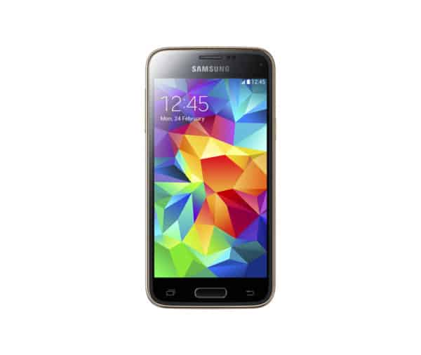 Galaxy S5 official render with wallpaper 1