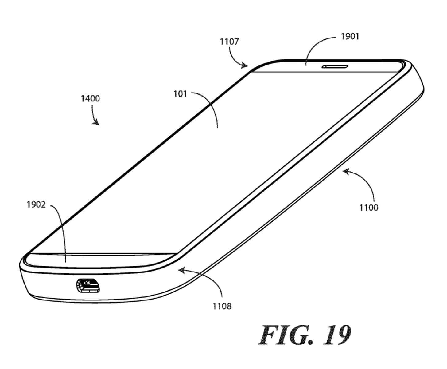Google modular smartphone patent February 2019 10
