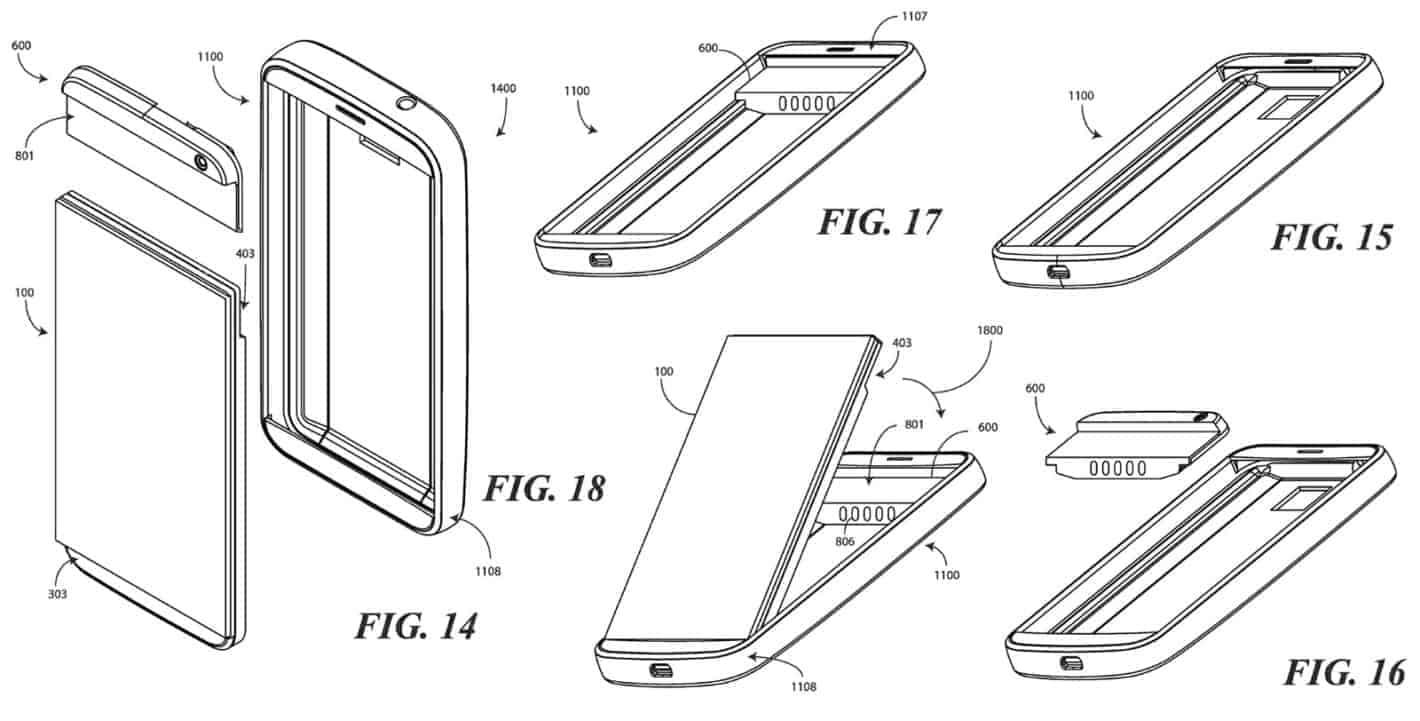 Google modular smartphone patent February 2019 18