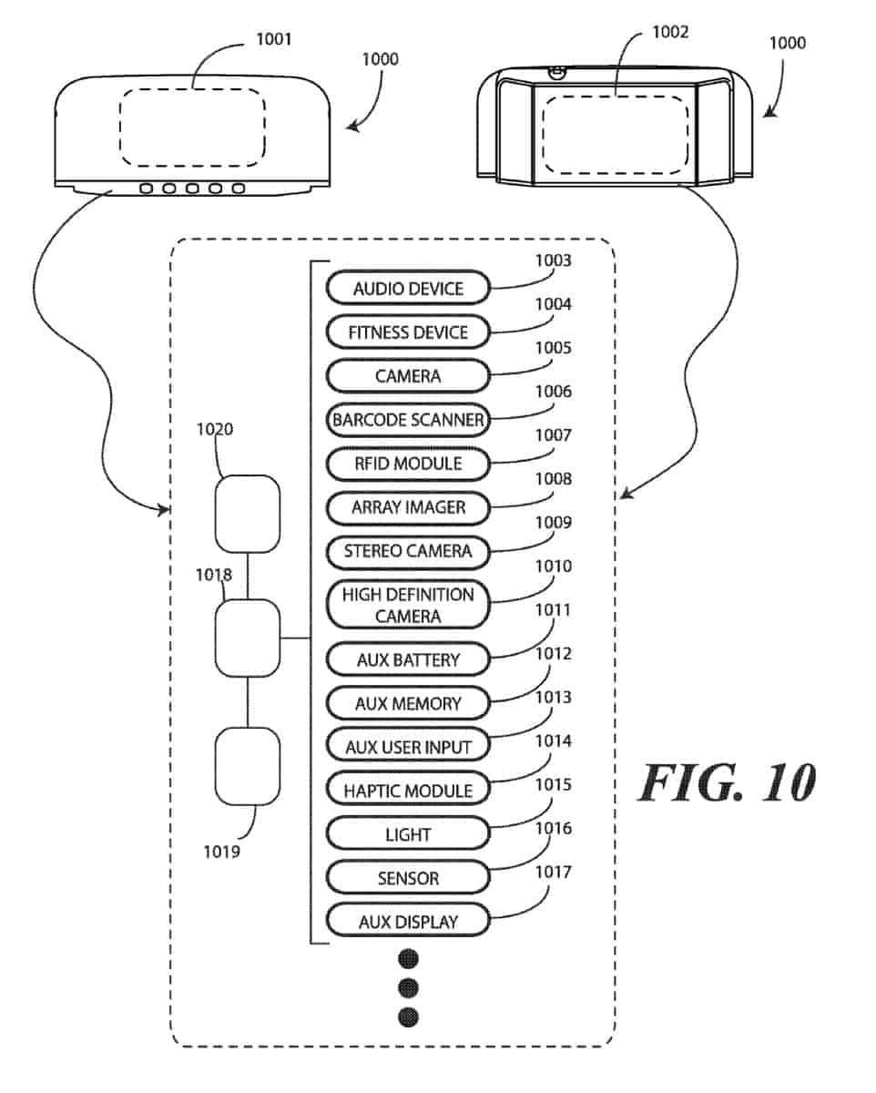 Google modular smartphone patent February 2019 5