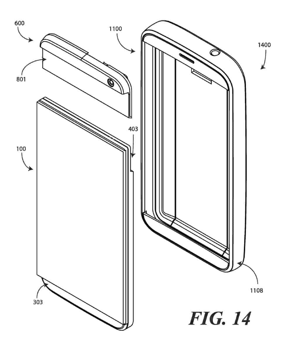 Google modular smartphone patent February 2019 7