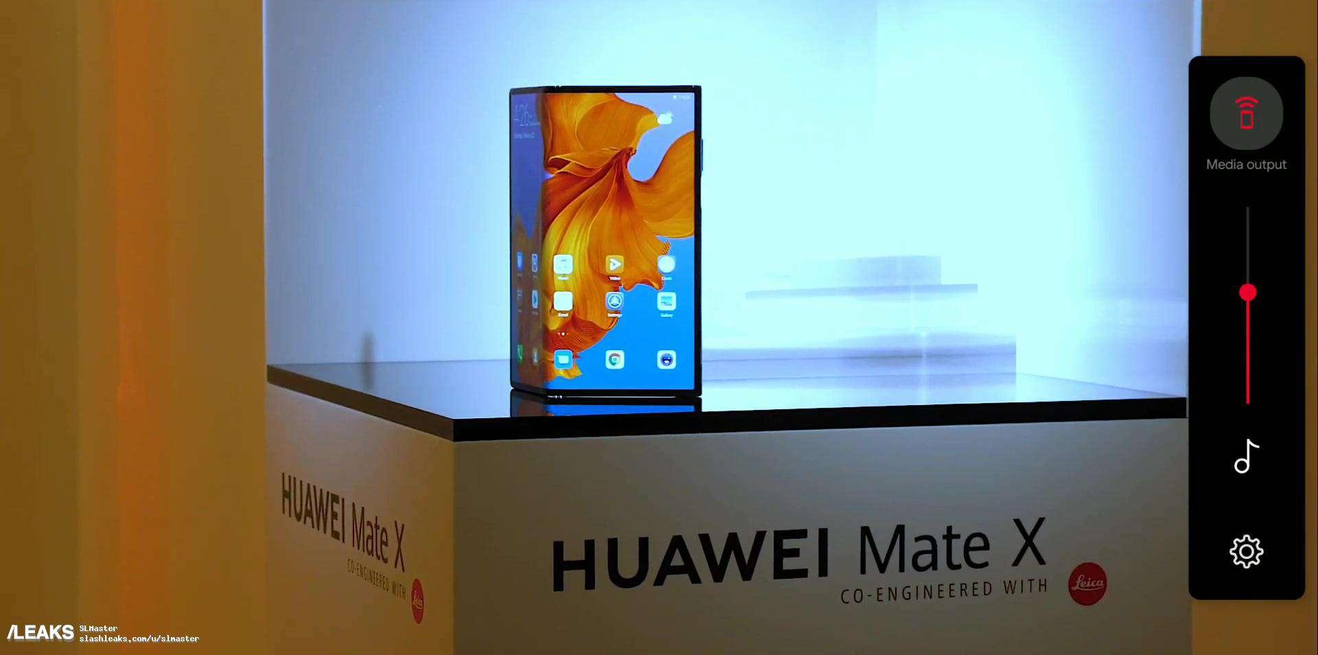 Huawei Mate X real life image leak 1