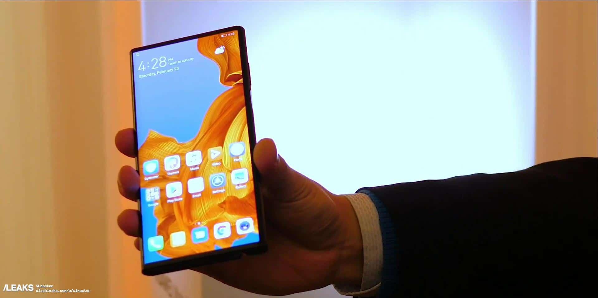 Huawei Mate X real life image leak 2