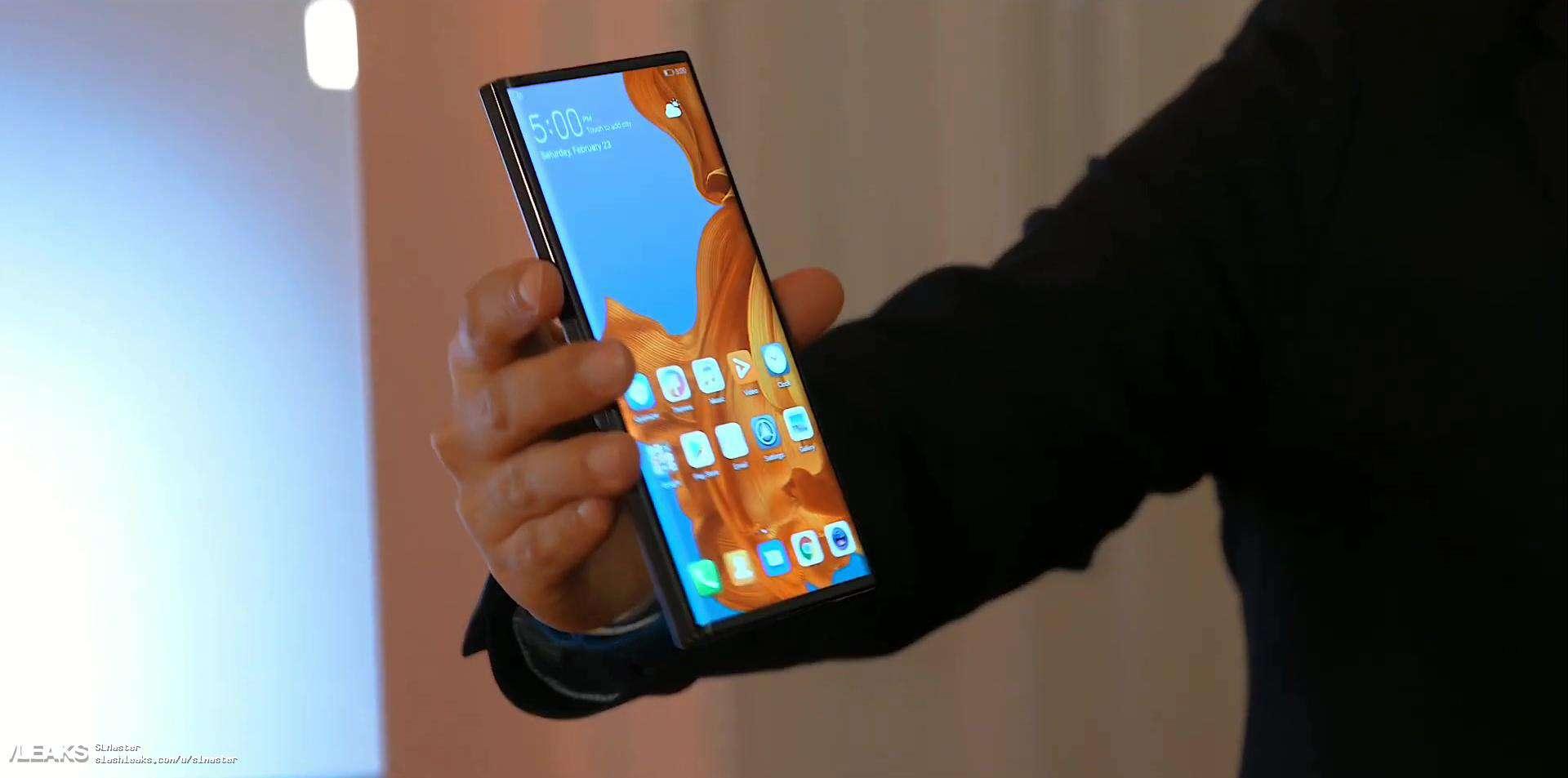 Huawei Mate X real life image leak 3