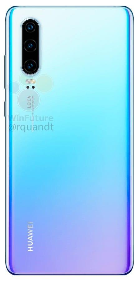 Huawei P30 Leak Rear 02 WinF