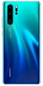 Huawei P30 Pro Leak Rear 01 WinF