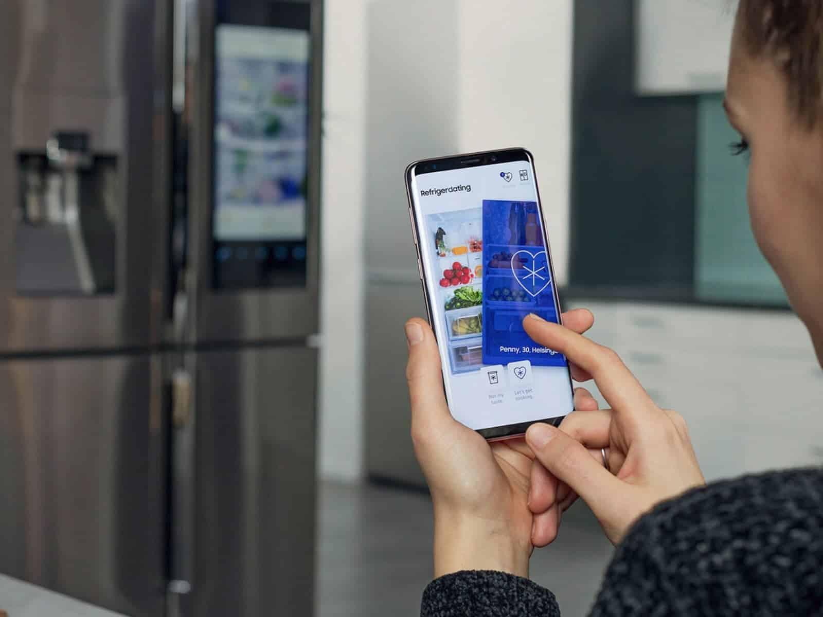 Refrigerdating img from Samsung