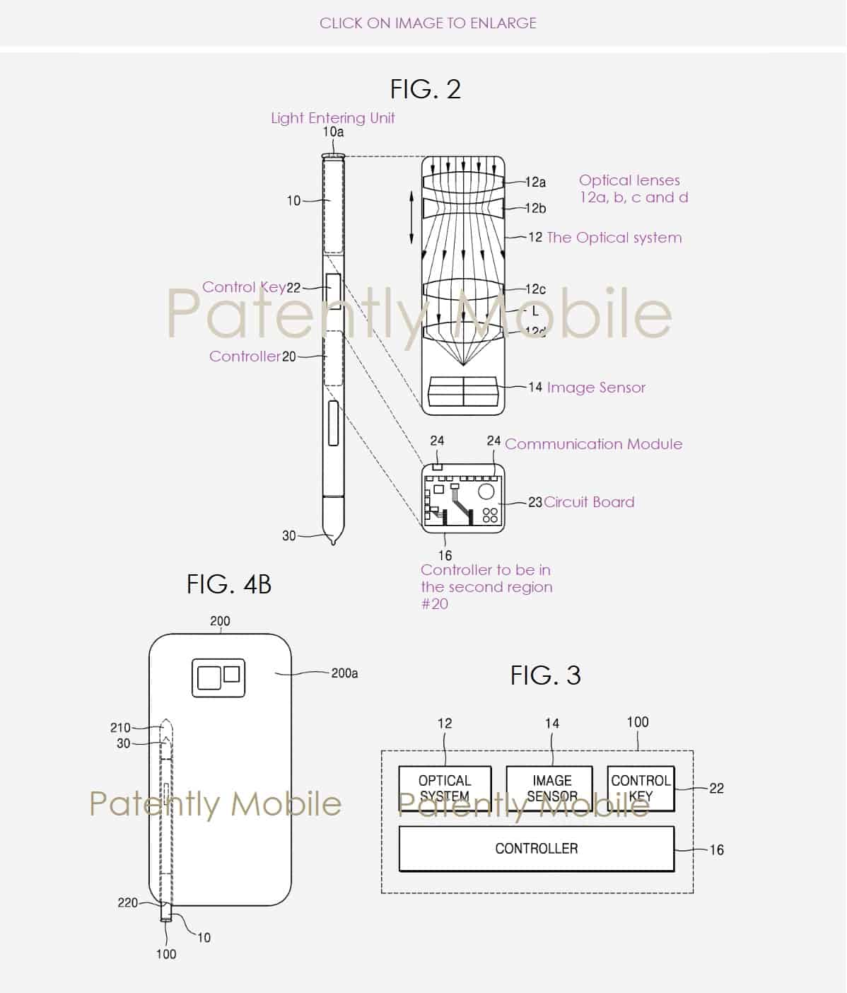 S Pen Camera Patent 1
