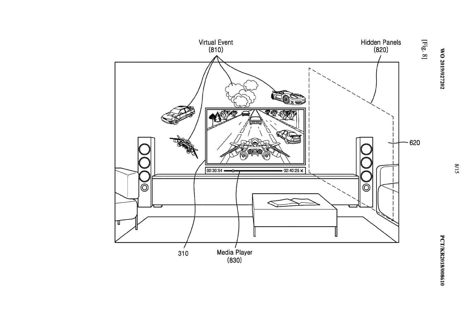 Samsung AR Goggles Patent 8