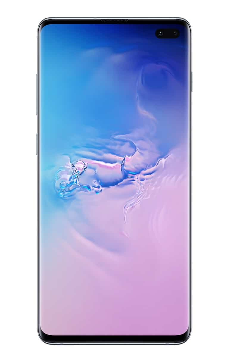 Samsung Galaxy S10 Plus blue official image 2