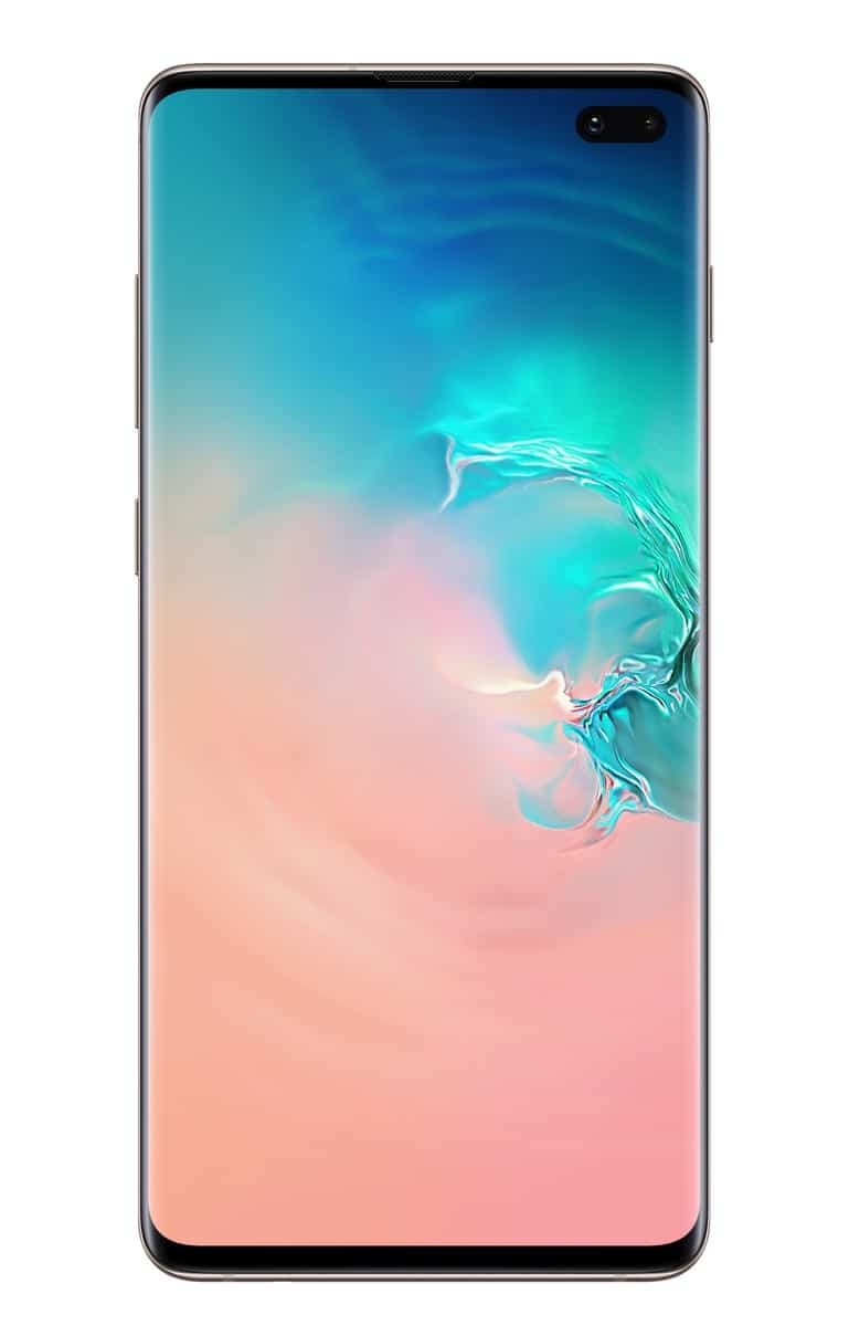 Samsung Galaxy S10 Plus ceramic white official image 1