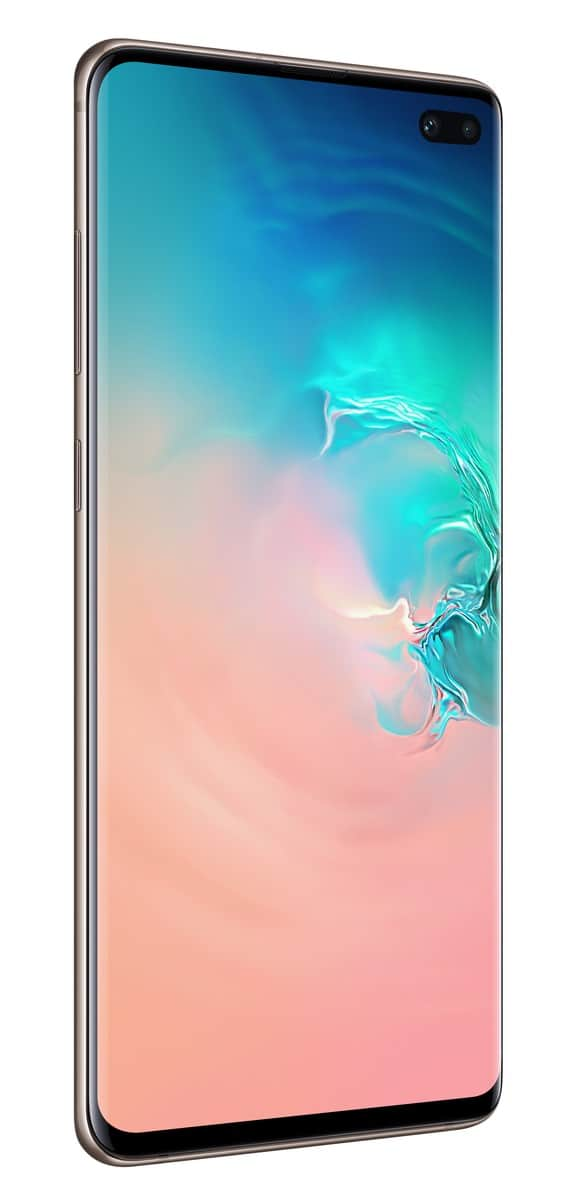 Samsung Galaxy S10 Plus ceramic white official image 2