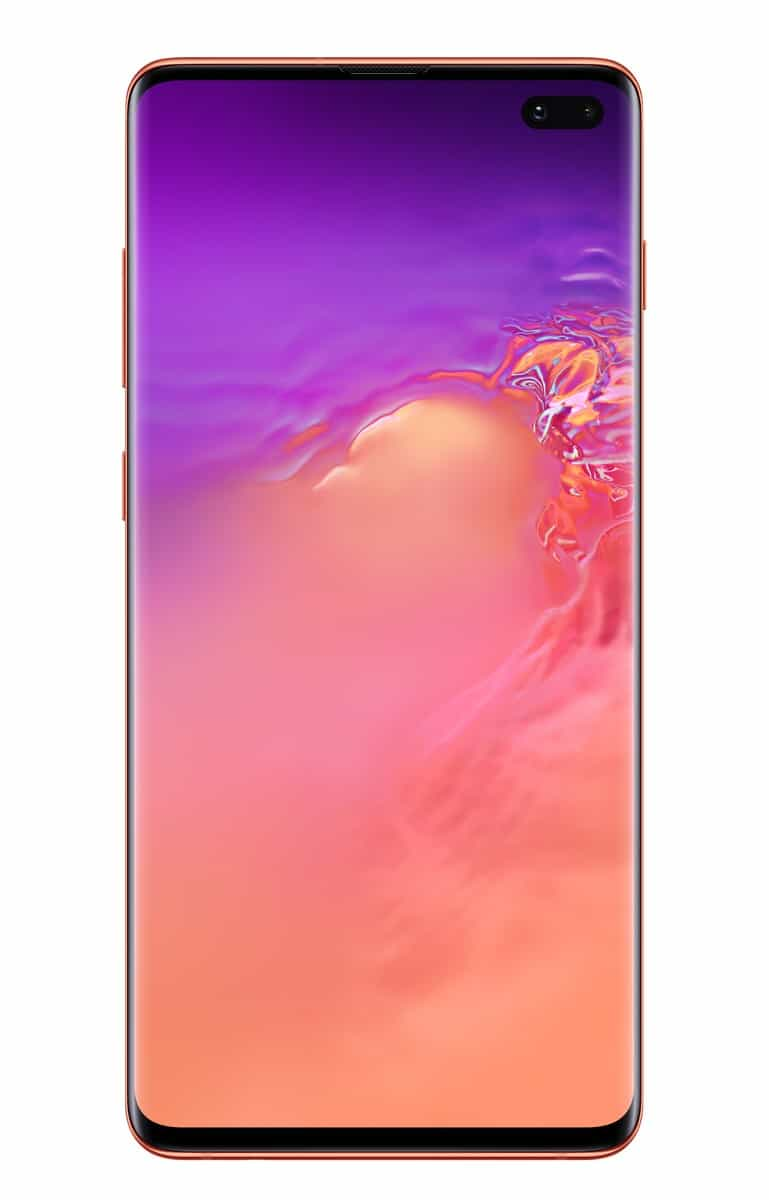 Samsung Galaxy S10 Plus pink official image 1