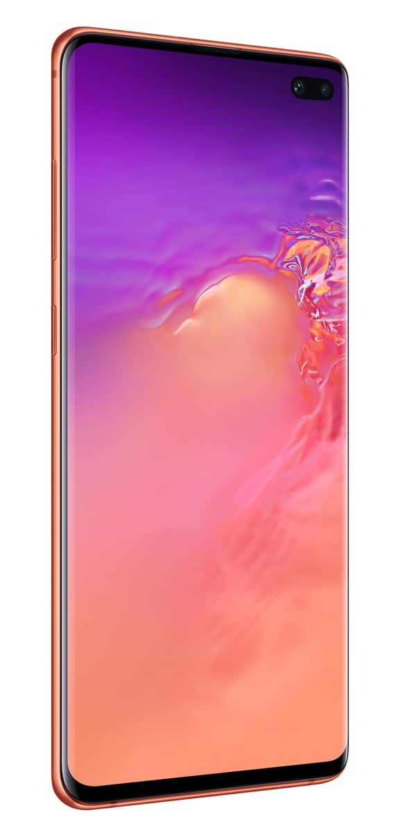 Samsung Galaxy S10 Plus pink official image 2