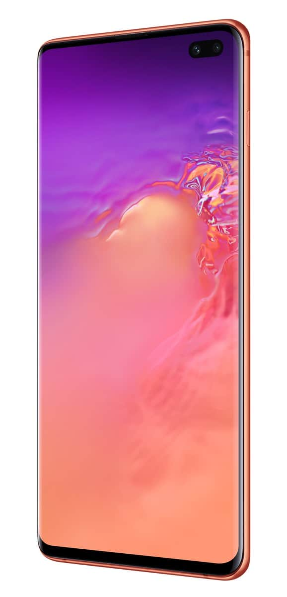 Samsung Galaxy S10 Plus pink official image 3