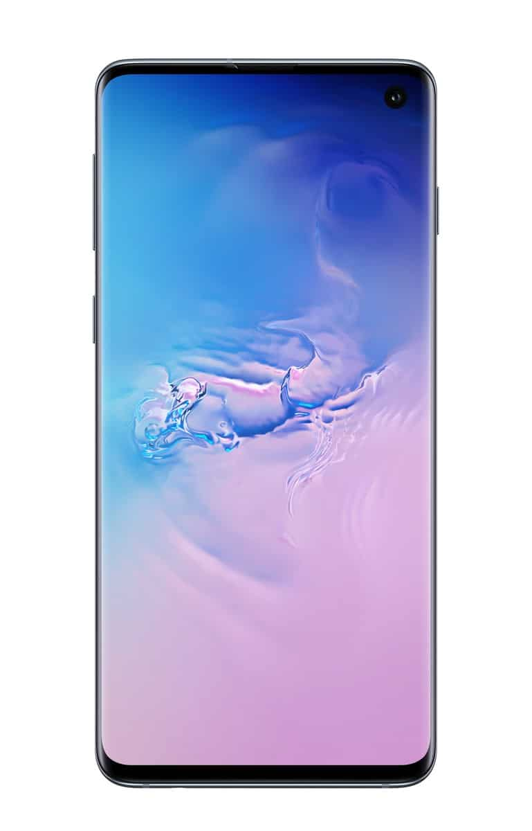 Samsung Galaxy S10 blue official image 1