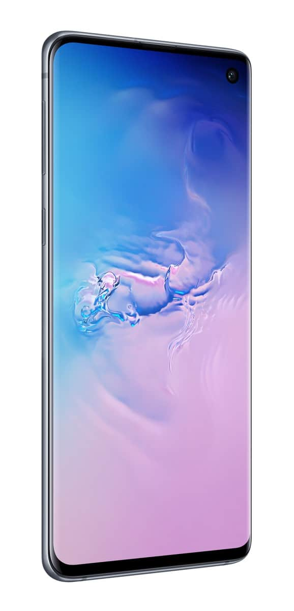 Samsung Galaxy S10 blue official image 2