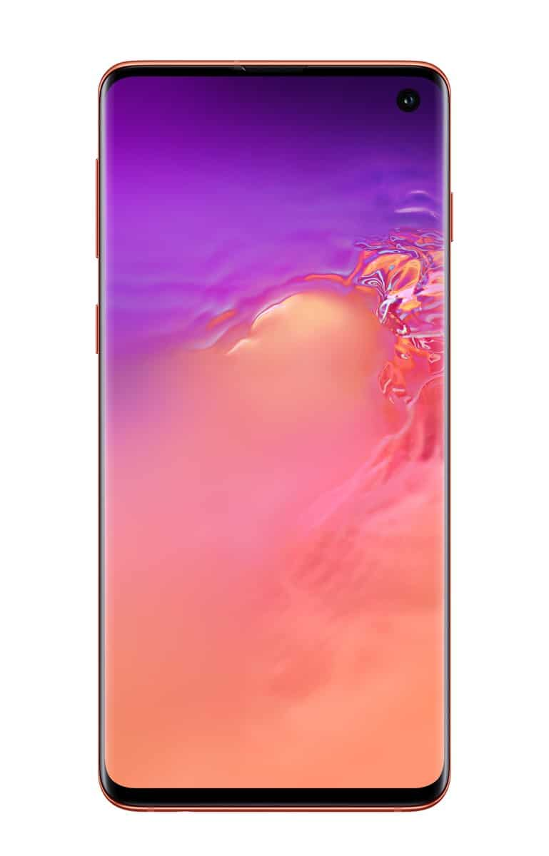 Samsung Galaxy S10 pink official image 2