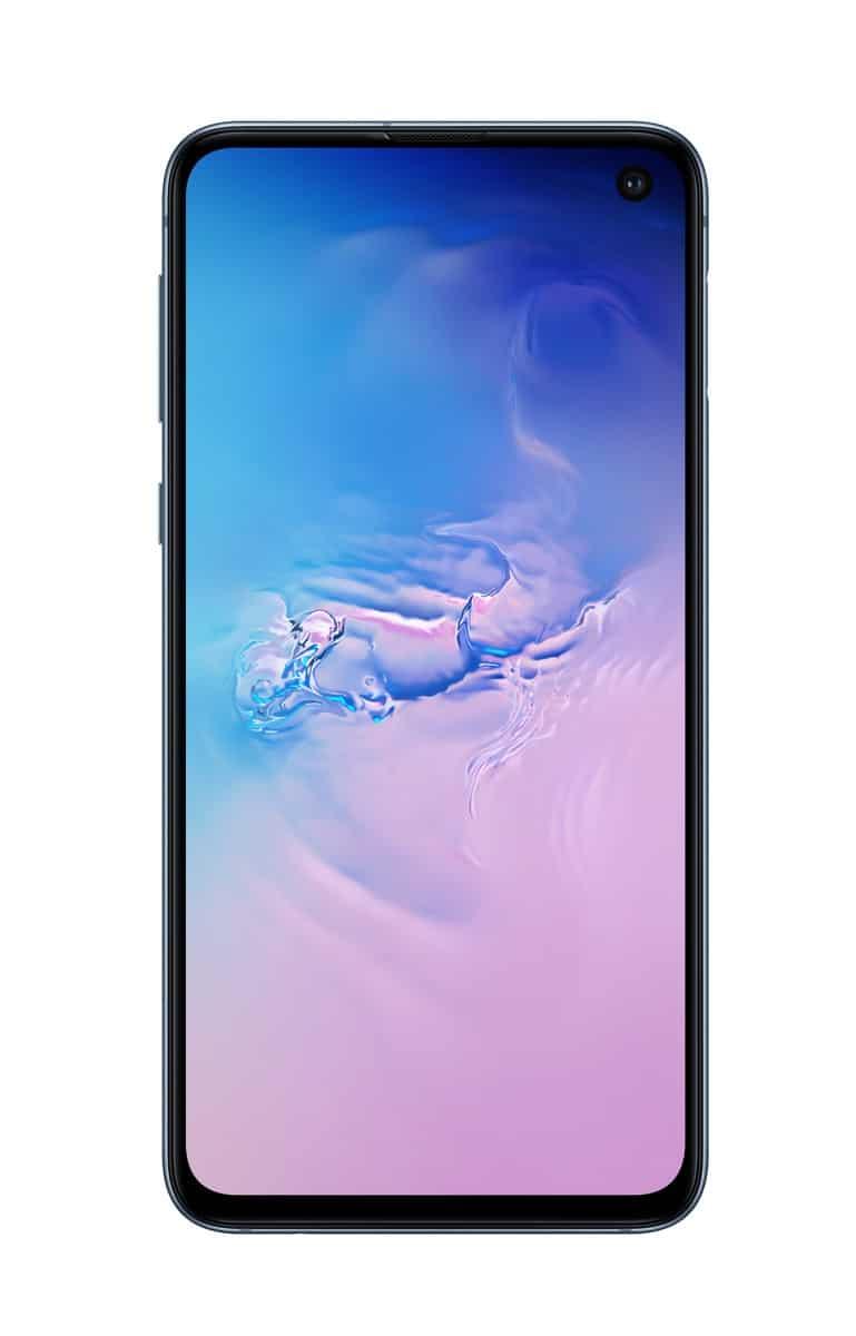 Samsung Galaxy S10e blue official image 2