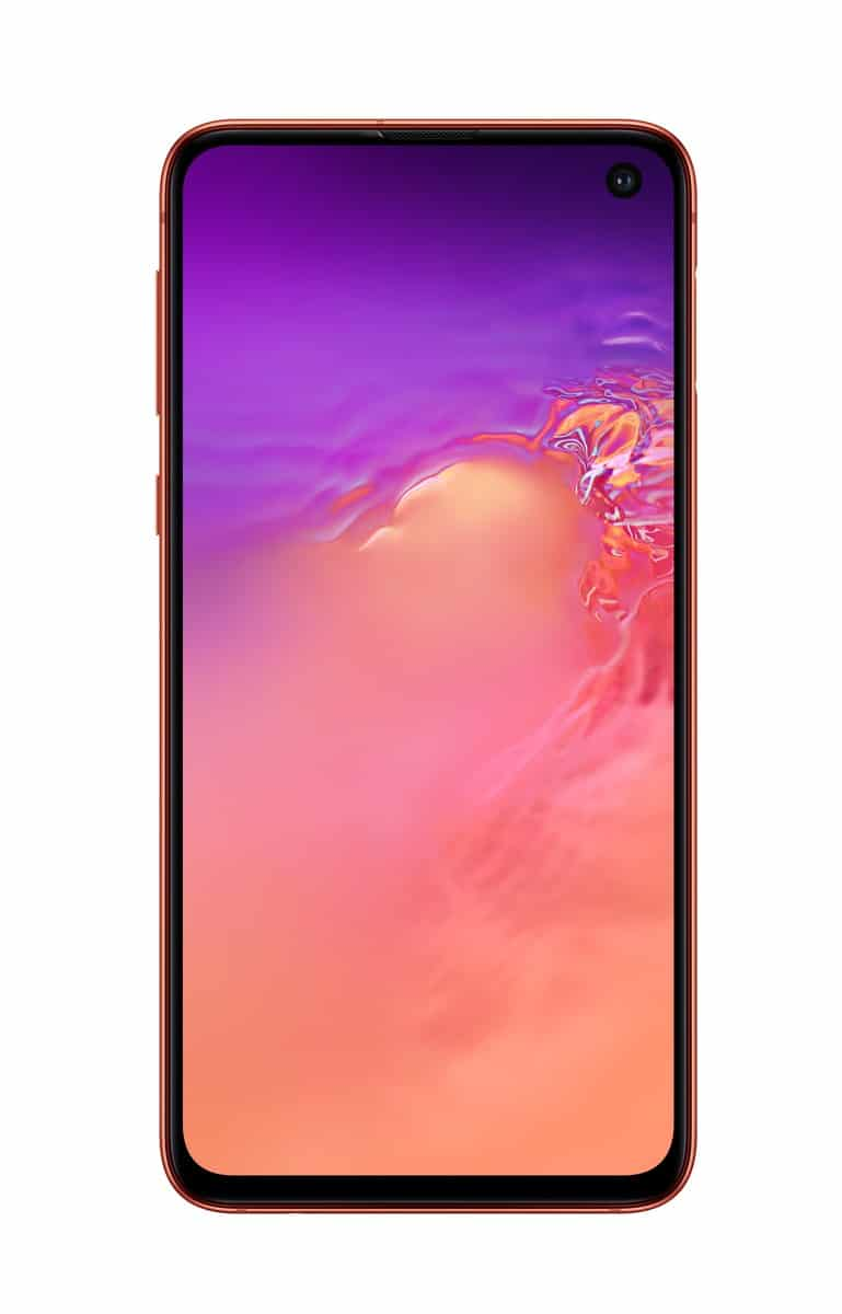 Samsung Galaxy S10e pink official image 2