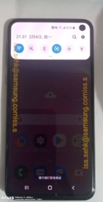 Samsung Galaxy S10e real life image leak 5