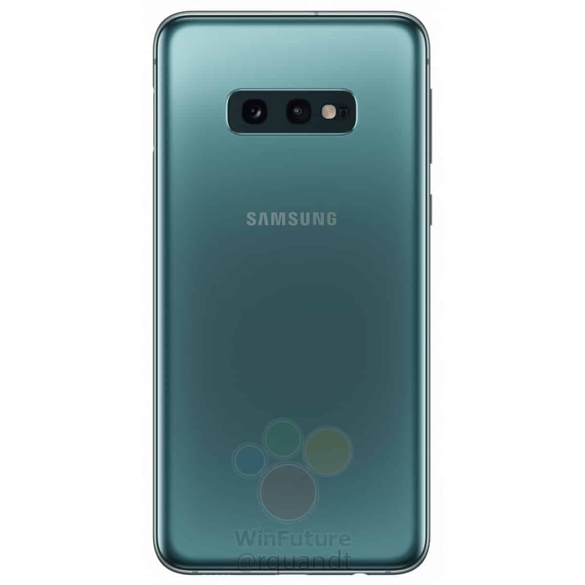 Samsung Galaxy S10e render leak 10