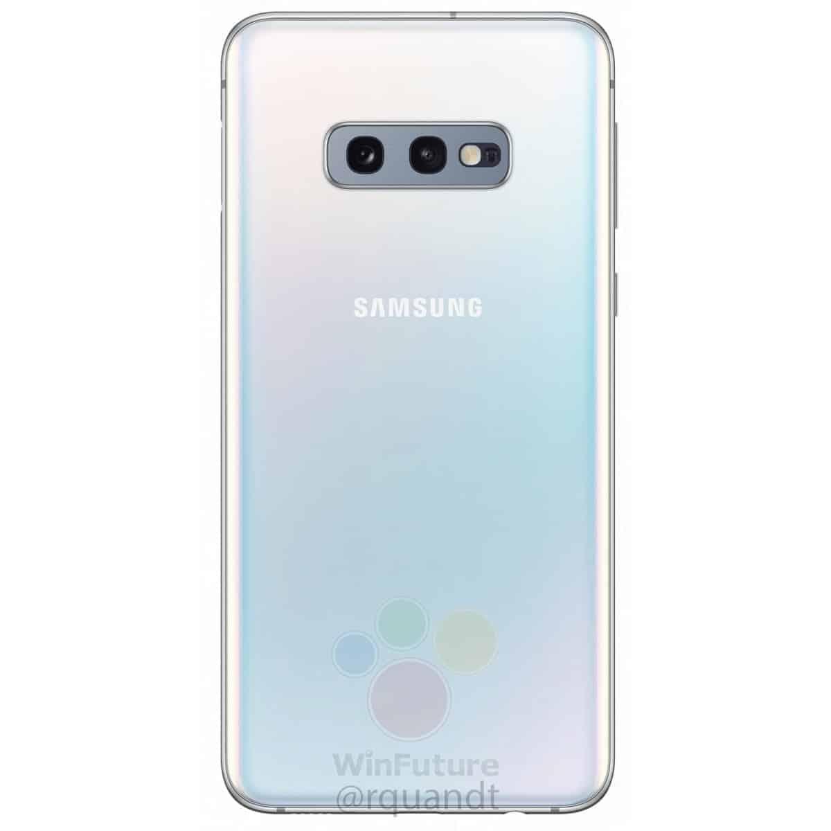 Samsung Galaxy S10e render leak 2