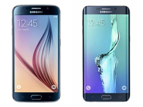 Samsung Galaxy S6 Galaxy S6 official image with wallpaper 1
