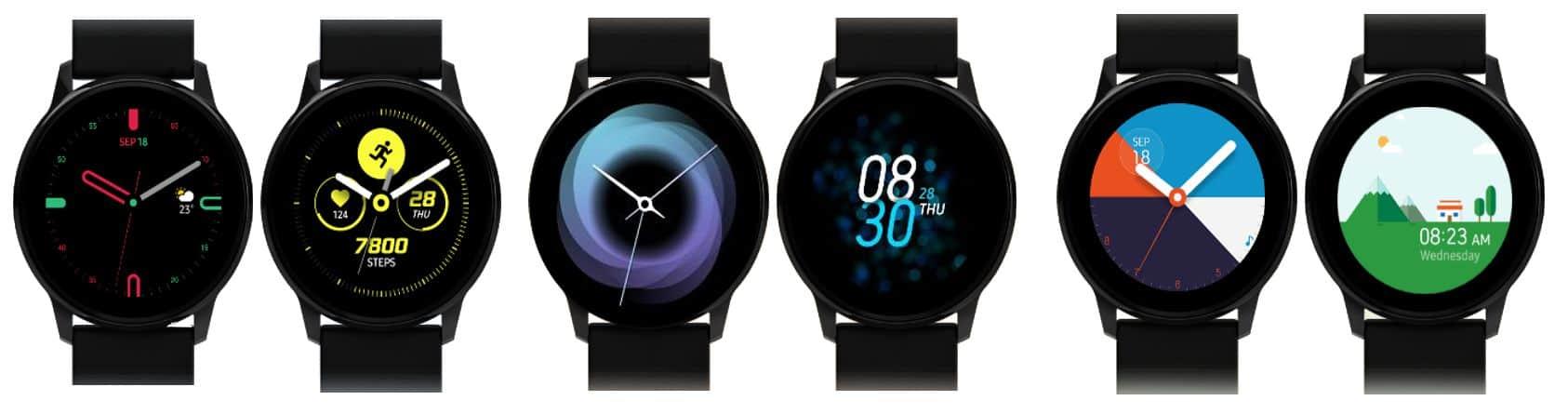 Samsung Galaxy Watch Active Watchfaces 1
