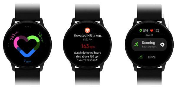 Samsung Galaxy Watch Active Watchfaces 3