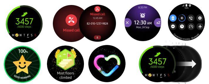 Samsung Galaxy Watch Active Watchfaces 4