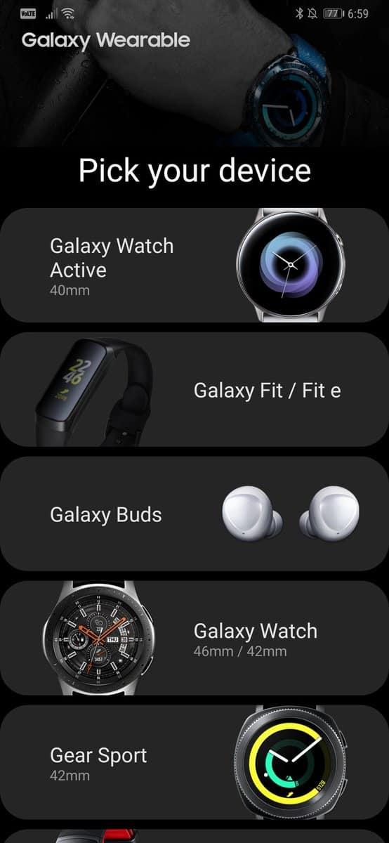 Samsung Galaxy Wearable APK Leak 1