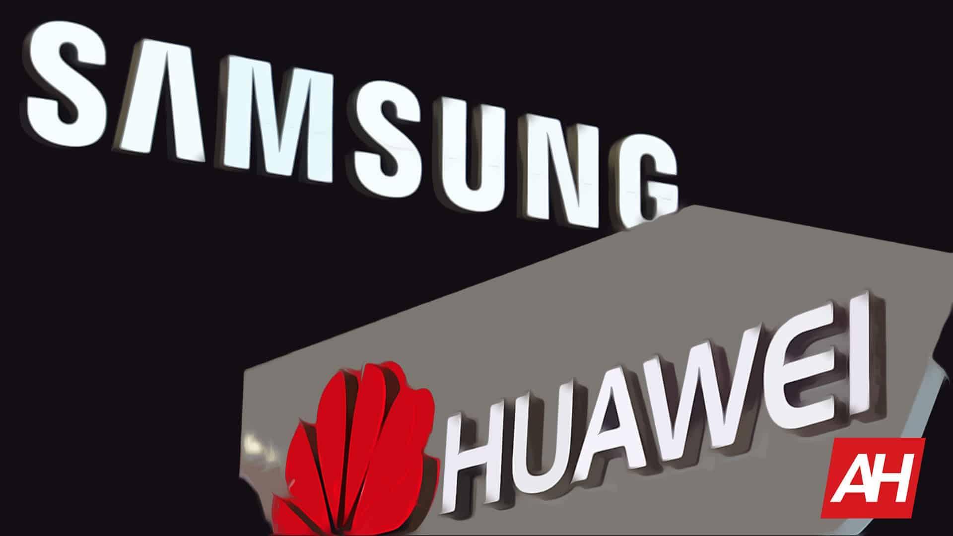 Samsung Huawei Logos AH New Stylized