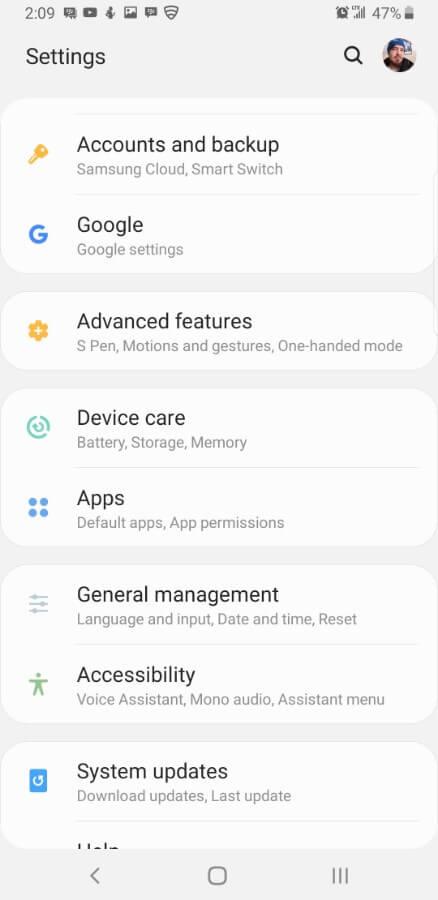 Samsung Screencap Bixby Custom Key Assigning 02