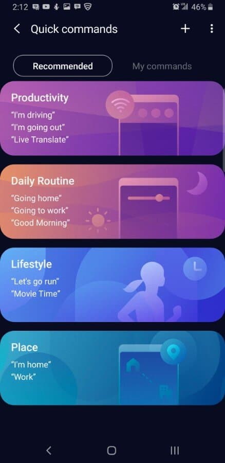 Samsung Screencap Bixby Custom Key Assigning 09