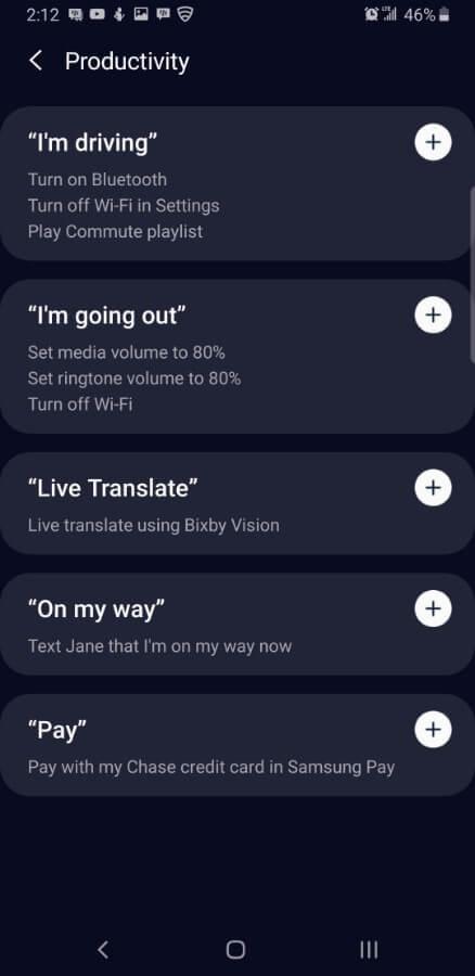 Samsung Screencap Bixby Custom Key Assigning 10