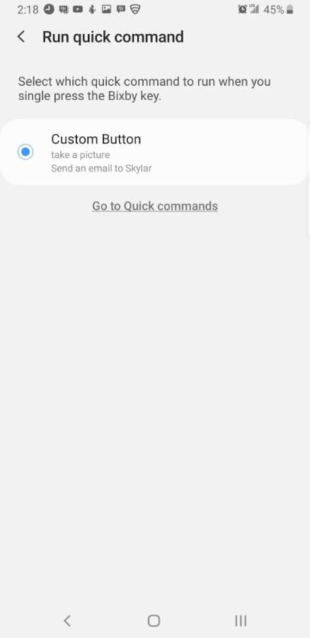 Samsung Screencap Bixby Custom Key Assigning 17