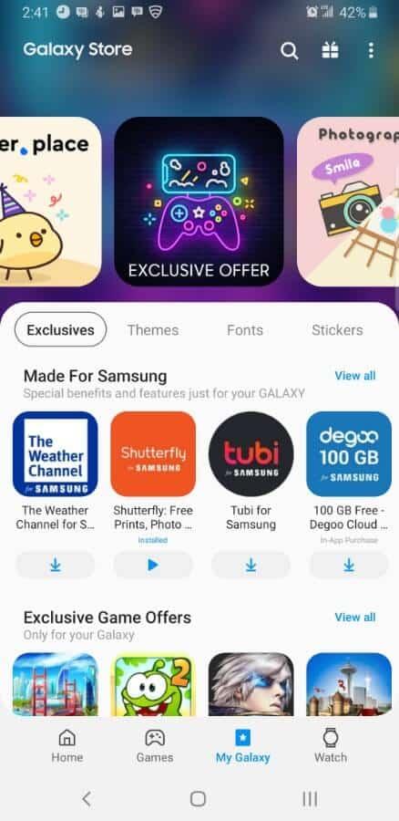 Samsung Screencap Update Galaxy Apps 01