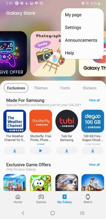 Samsung Screencap Update Galaxy Apps 02